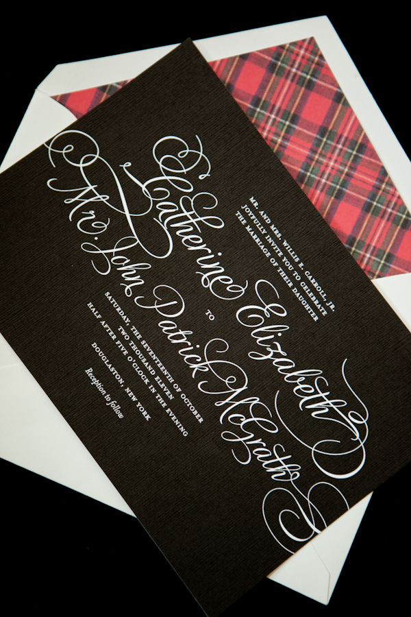 How to Get White Lettering on Your Wedding Invitations