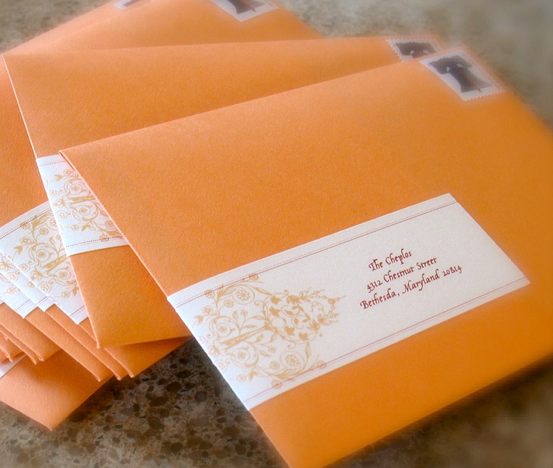 Mailing Your Wedding Invitations Pomp Designs