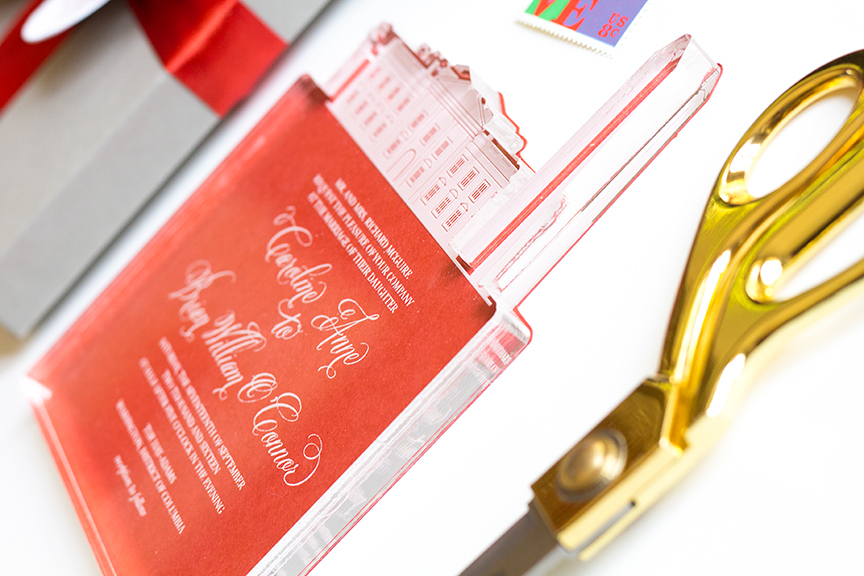 Cool Acrylic Invitation—Creating Unique Wedding Invitations