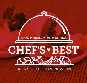 Food & Friends' Chef's Best 2016 Branding