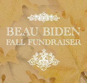 Beau Biden Fall Fundraiser Branding