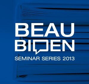Beau Biden Seminar Series Branding