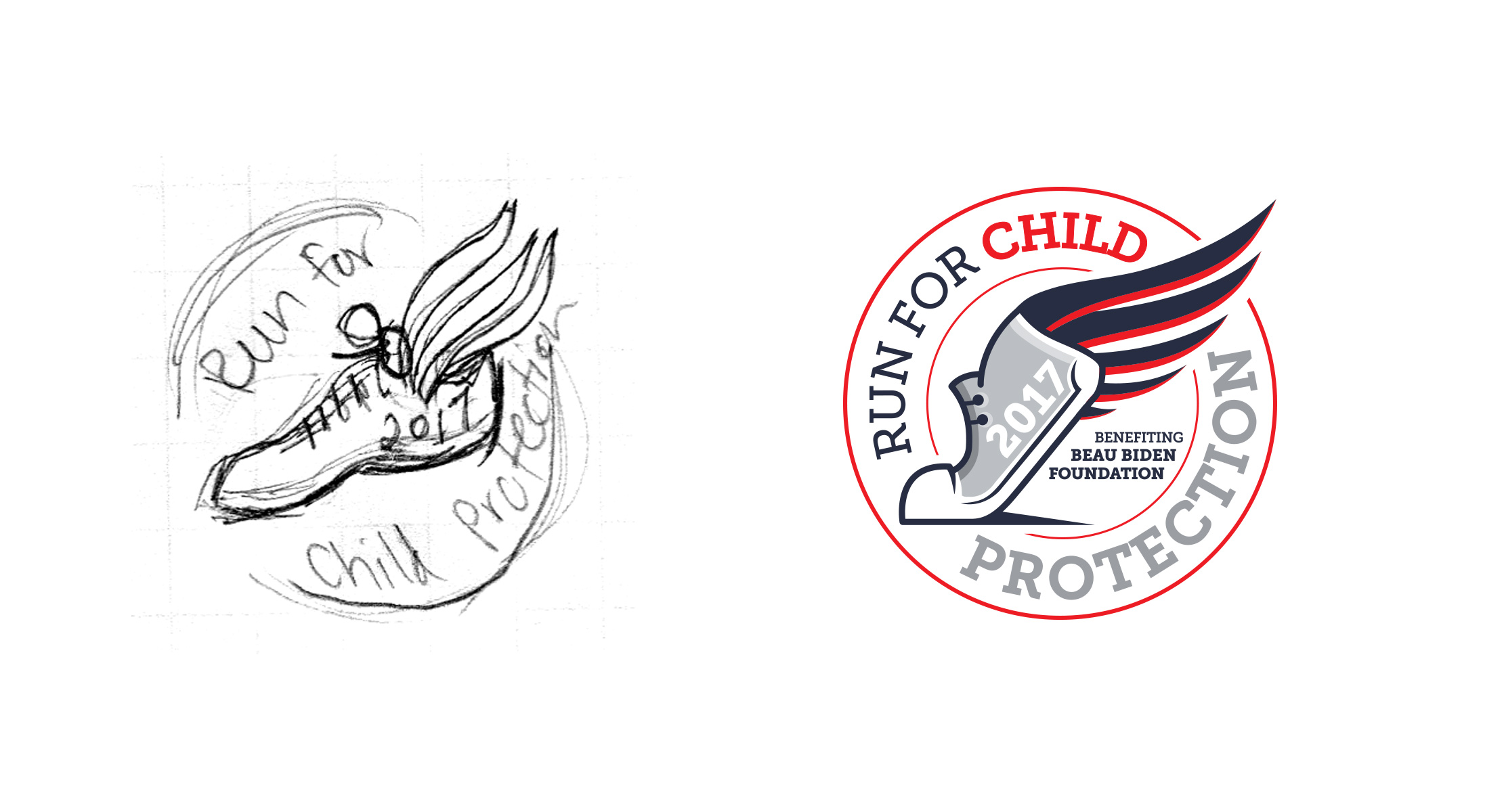 From Sketches To Finished Logo Designs - Pomp Creative | Branding Your Gala Fundraiser ...