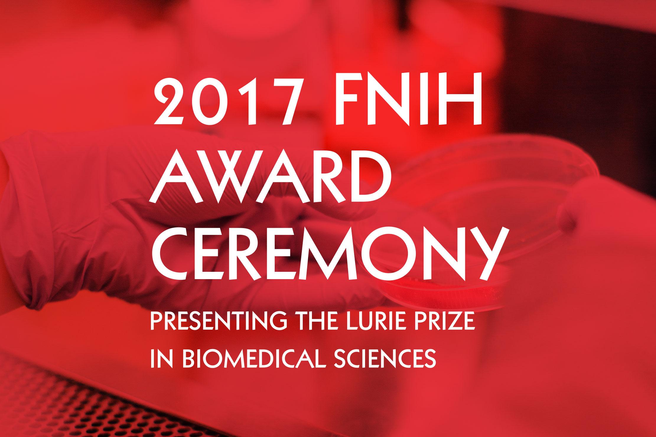 Award Ceremony Branding—FNIH Lurie Prize