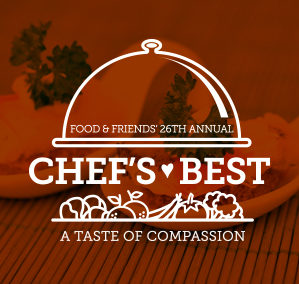 Food & Friends' Chef's Best 2016 Branding