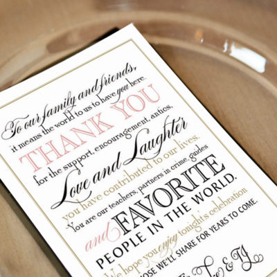 printable thank you note wedding