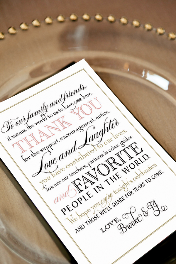 Printable Wedding Thank You Note For Guests  Pomp Creative