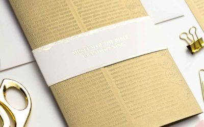 Museum of the Bible Opening Invitations