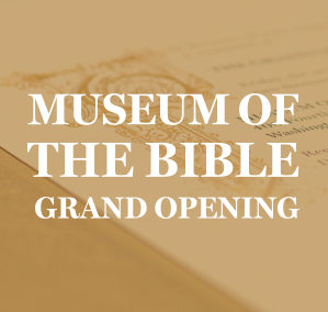 Museum of the Bible Opening Gala