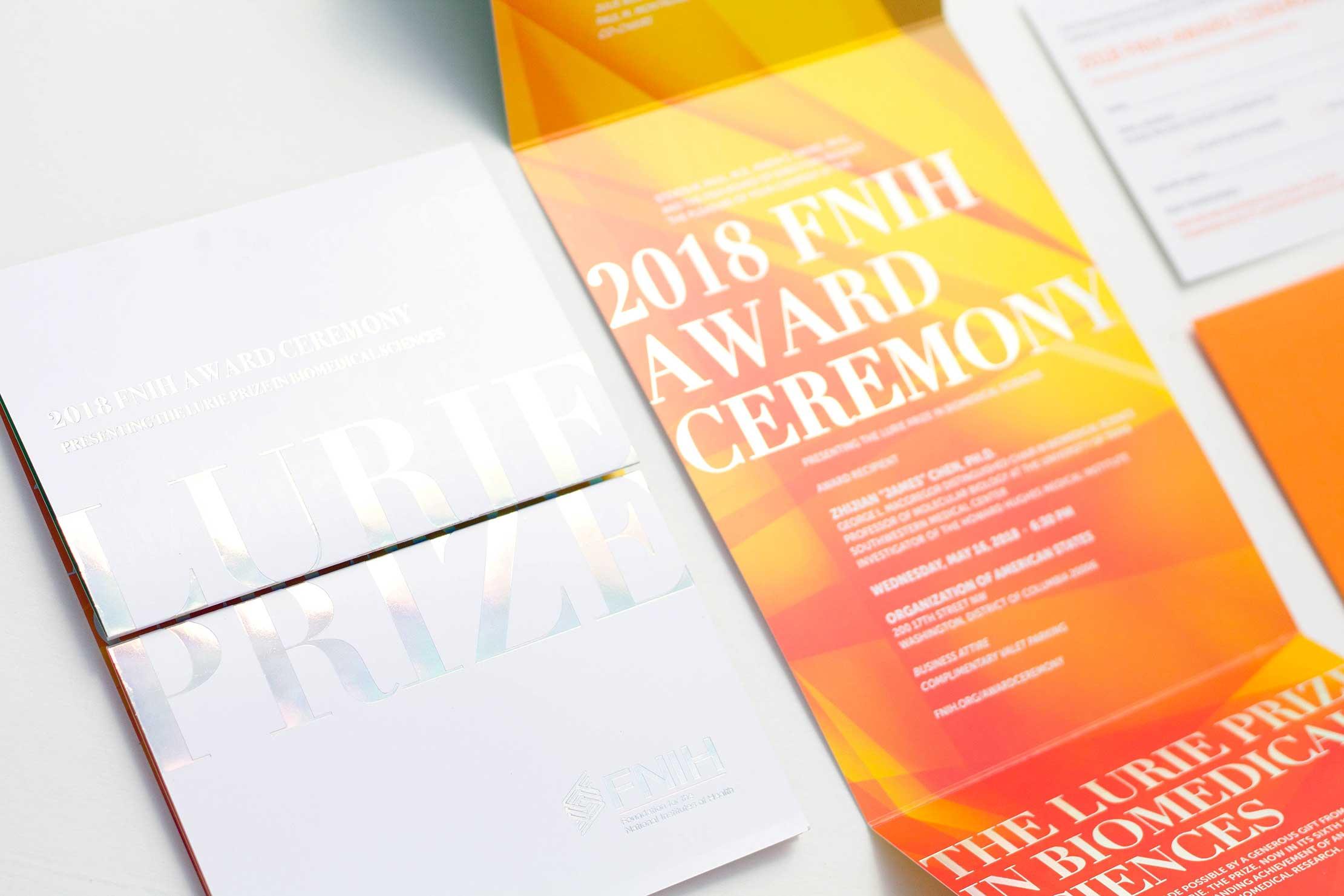 gala invitation event branding annapolis, md washington, dc graphic design
