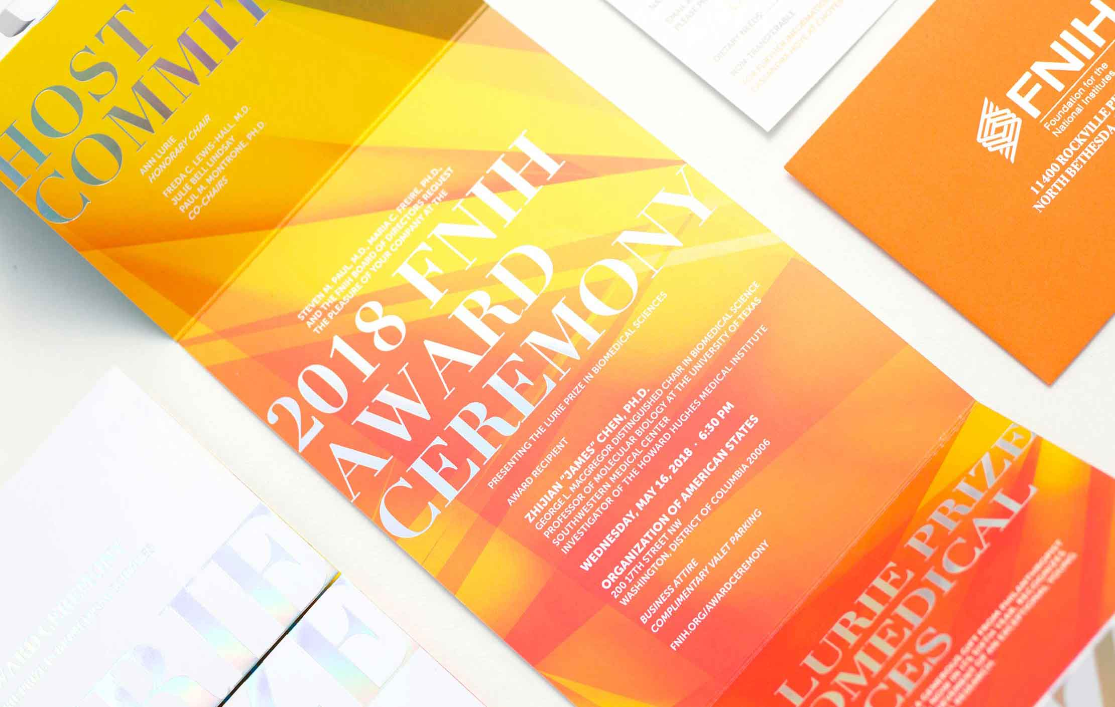 gala invitation event branding annapolis, md washington, dc graphic design