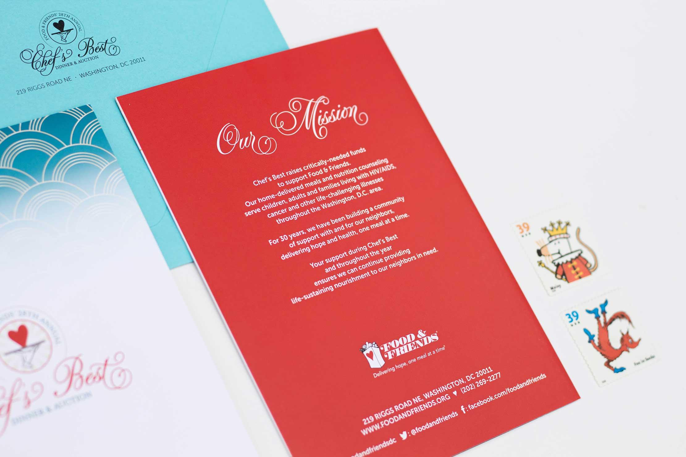 graphic design annapolis washington, dc Event Branding Fundraiser