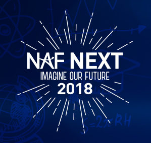 NAF NEXT 2018 Event Branding