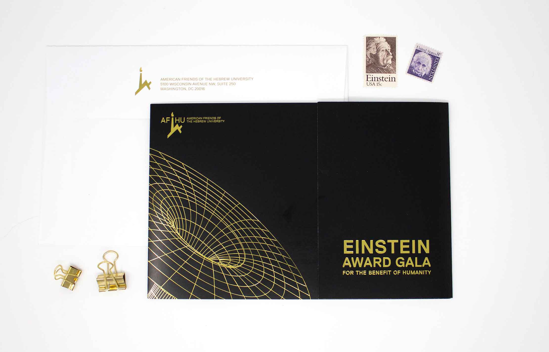 Washington DC gala invitation, luxury invitation, graphic design