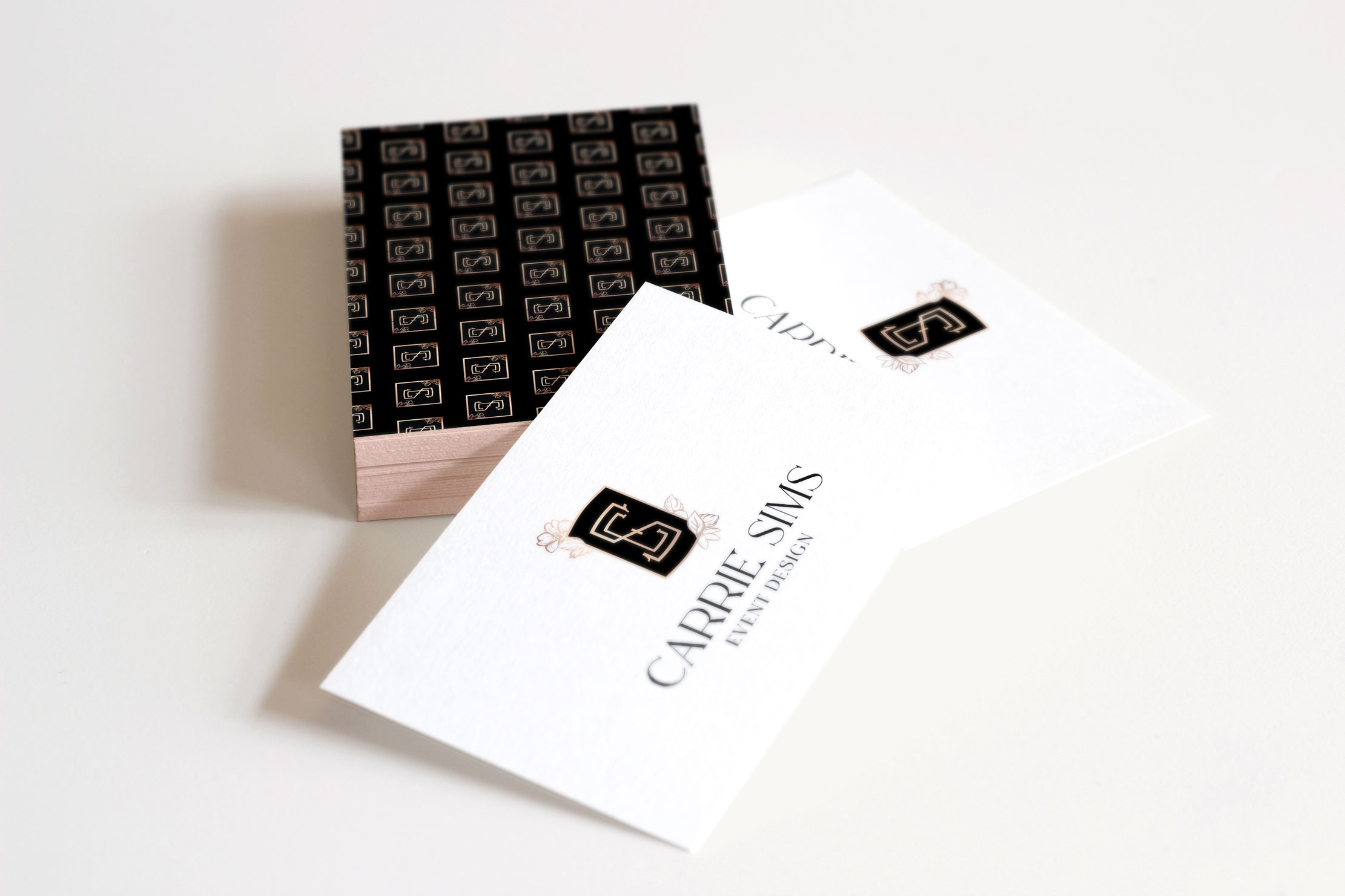 Carrie Sims Event Design Branding—New York City Events