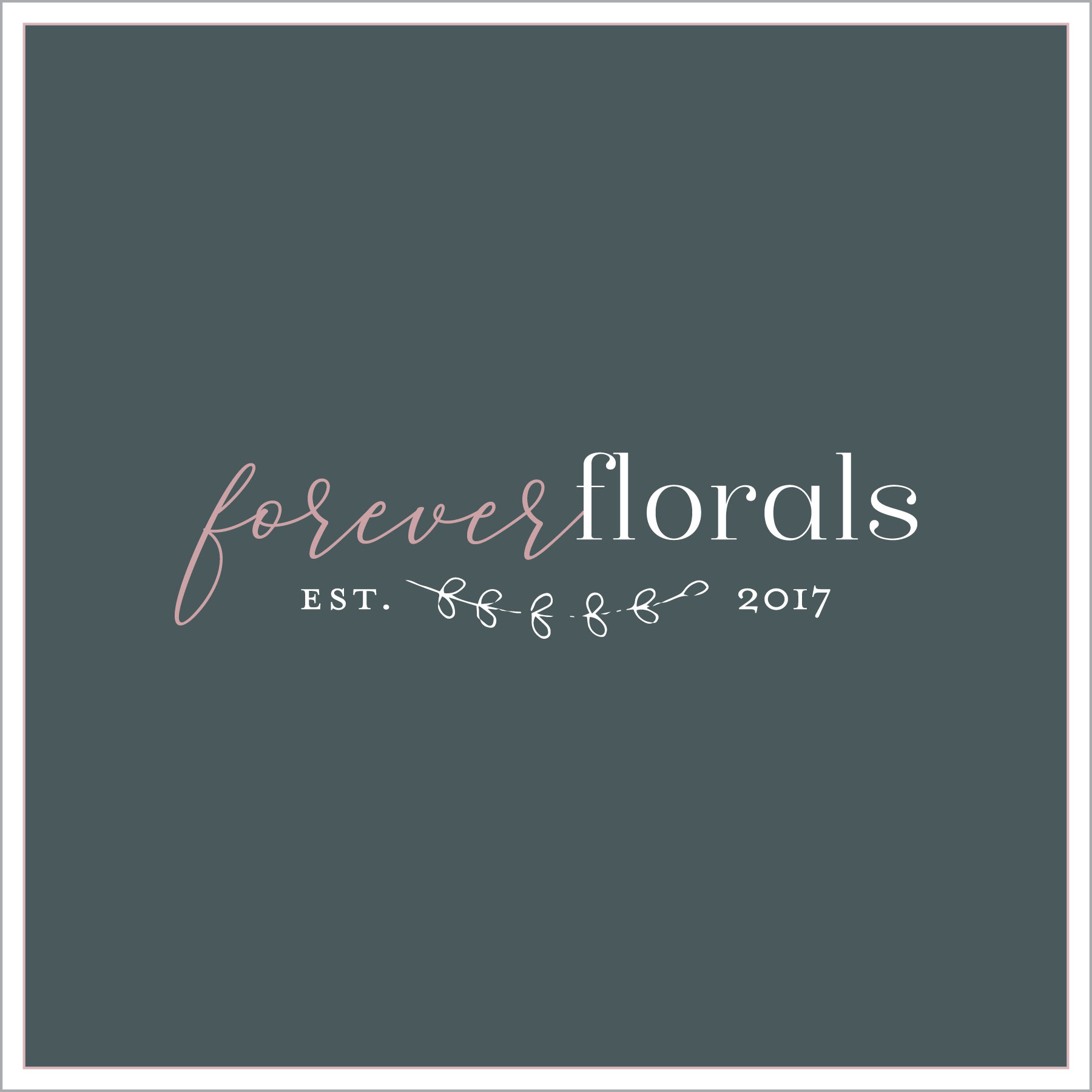 premade branding; florals; flowers; events; small business logo; graphic design; logo design; branding
