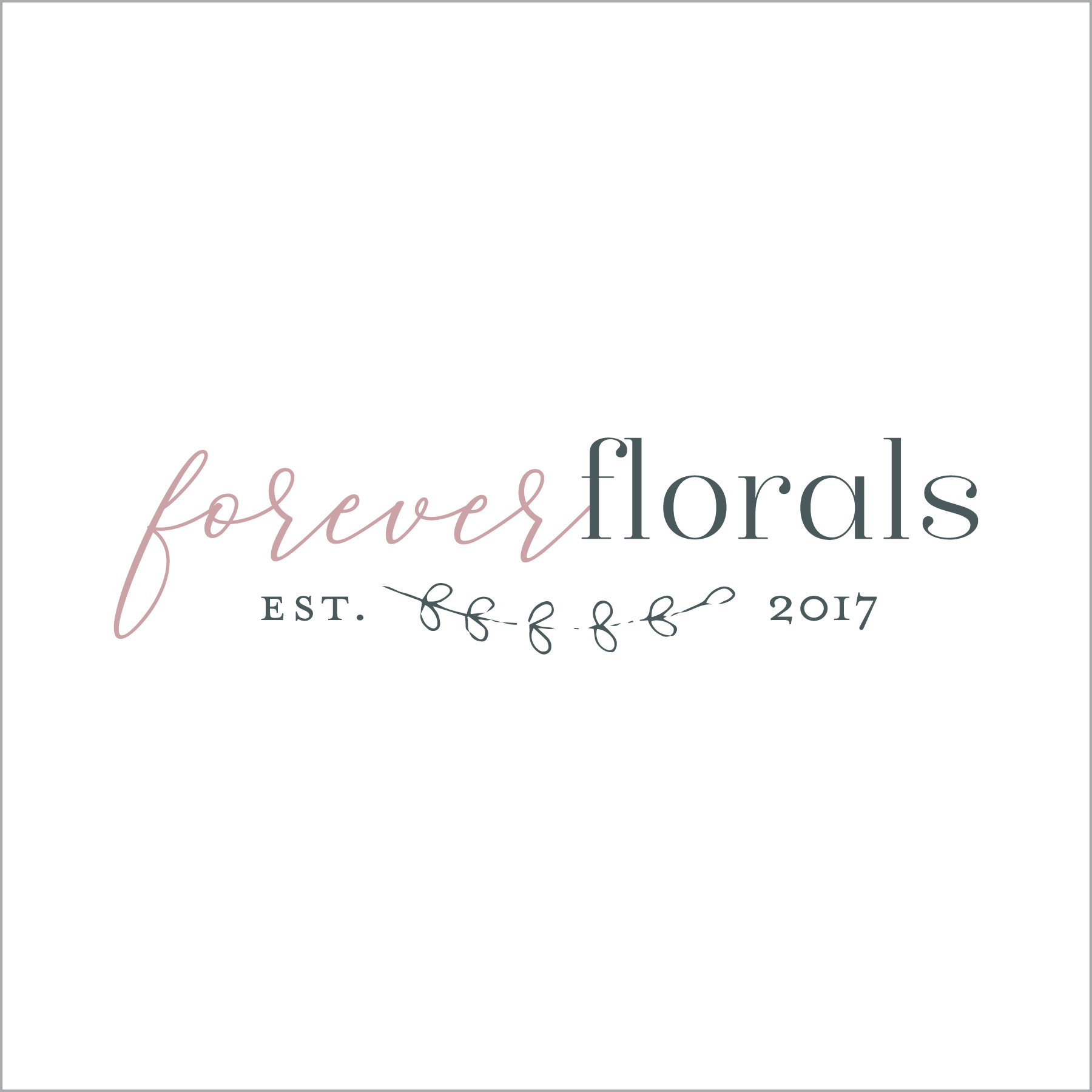premade branding; florals; flowers; events; small business logo; graphic design; logo design; branding