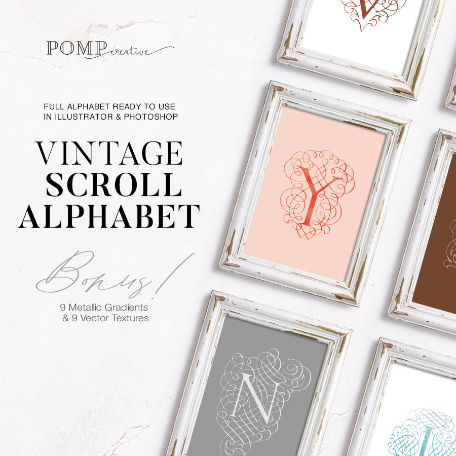 Lettering; Illustrated; Alphabet; Vintage; Vintage Logo; Metallic; Metallic Texture; Metallic Gradient; Illustrator; Illustrator Text Style; Photoshop; Ladypreneur; Entrepreneur; Entrepreneur Woman; Entrepreneurship; Entrepreneur Template; Entrepreneur Logo; Lovely; Vector; Vector Alphabet; Vector Letters